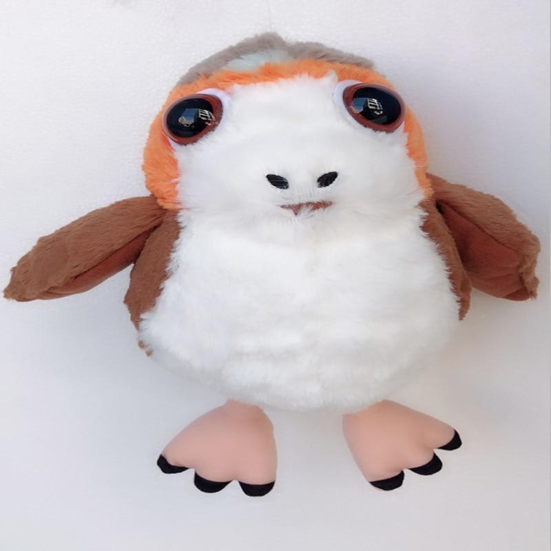 25cm New Star Wars Porg Bird Plush font b Toy b font Cartoon Movie Character Porg