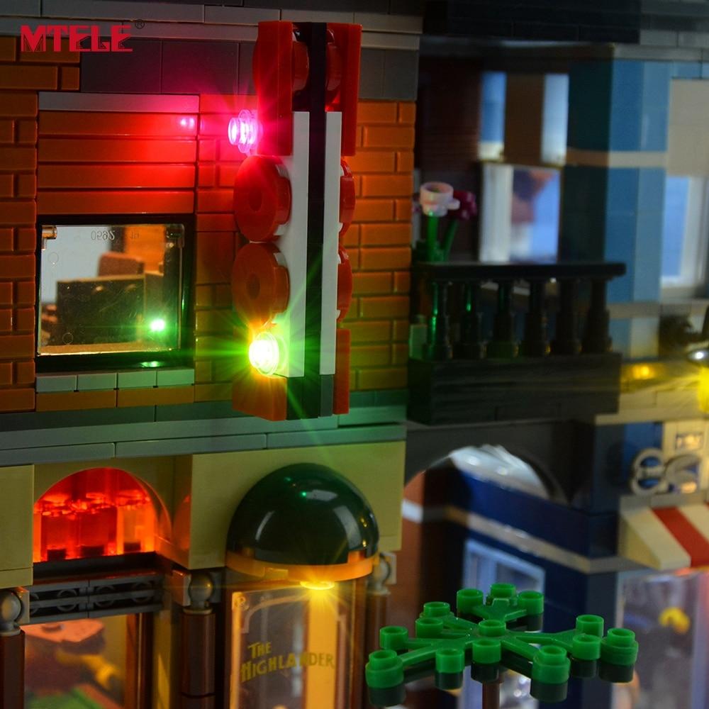 Komplet LED osvetlitve blagovne znamke MTELE za pisarniški komplet - Gradbeni igrače - Fotografija 5