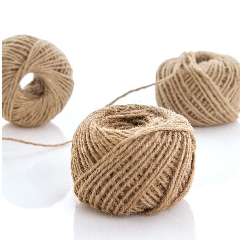 60 mrollo de cuerda de camo regalo diy decoracin hecha a mano de algodn