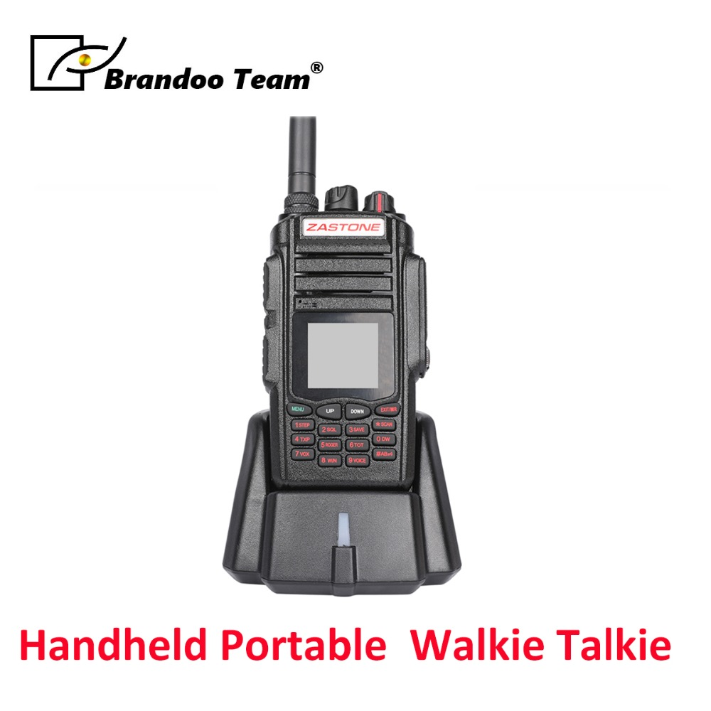 Freies Verschiffen 10 W Walkie Talkie Dual Band Radio Uhf 400-480 Mhz/vhf 136-174 Mhz 2800 Mah Walkie-talkie Audio Intercom