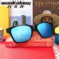 Moda ultra ligeras gafas de sol polarizadas TR conjunto imán espejo espejo plano gafas de clip colorido al por mayor 8058 imán