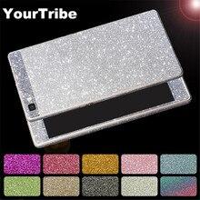 YourTribe Full Body Luxury Glitter Bling Matte Rhinestones Sticker Phone Case For Huawei P8 Lite P9 P10 Lite P9Plus mate 7 8 9