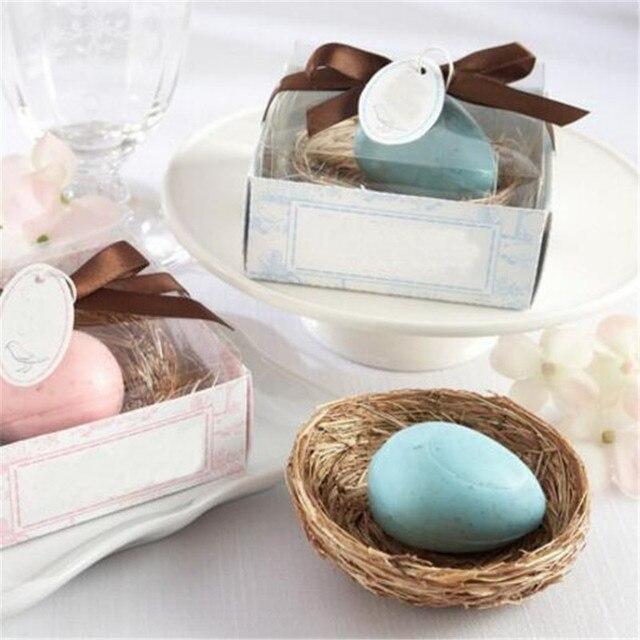 200pcs nest egg baby shower soap scented soap wedding savon party