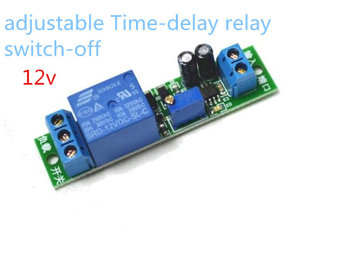 Delay Time Relay Module Timing Switch off Control Cycle Timer DC 12V LED Display Intelligent Control Time Relay/Delay dc 12v relay multifunction self lock relay plc cycle timer module delay time switch