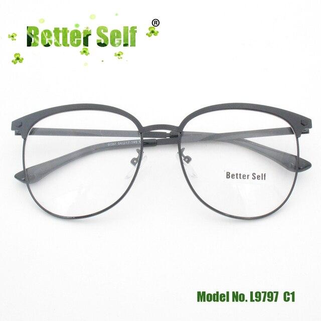 81563bbeba Better Self L9797 Korean Style Spectacles Retro Metal Eyeglasses Delicate Eyewear  Glasses Frame Myopia Eye Glasses