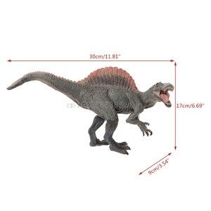 Image 2 - 1 pc spinosaurus dinossauro figura de ação brinquedos mão fantoche crianças modelo educacional