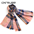 Hot! Winter Luxury Europe Brand Plaid Cashmere Scarf Women Oversized Blanket Scarf Long Wool Scarf Ladies Warm Pashmina Scarves