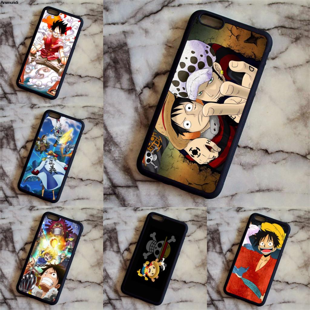Arsmundi One Piece Top Ten New People Trafalgar Law Phone Cases for Samsung S3 4 5 6 7 8 Note 7 8 Case Soft TPU Rubber Silicone