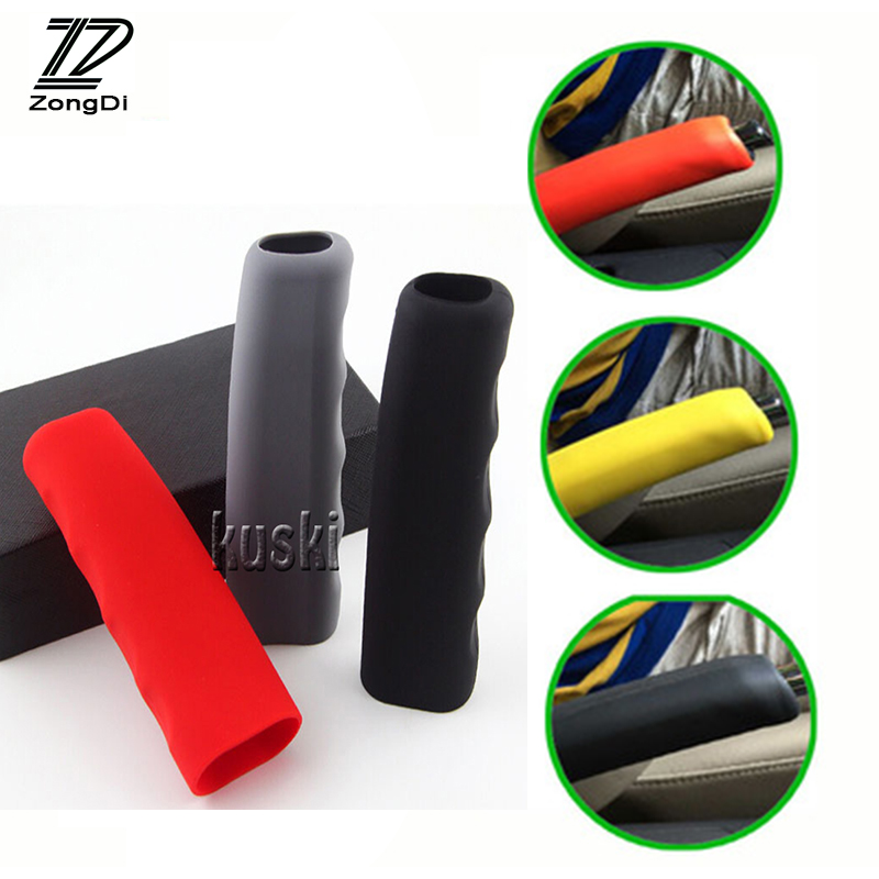 ZD Car Styling Non-slip Bandbrake Cover For Ford Focus 2 3 Fiesta Mondeo Ranger Kuga Seat Leon Ibiza Lexus Accessories Silicone