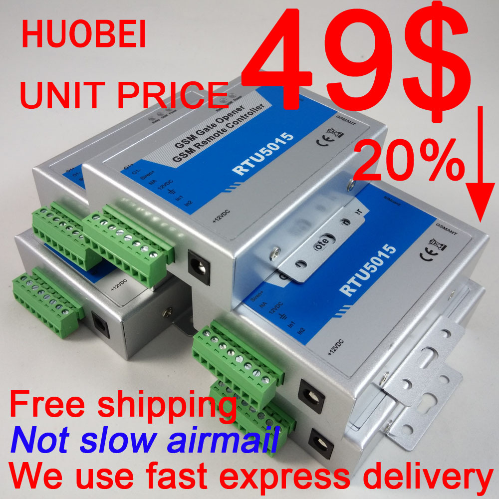 US $250 0  Only 49 0 USD Free shipping with fast express delivery RTU5015  GSM gate opener-in Access Control Kits from Security & Protection on