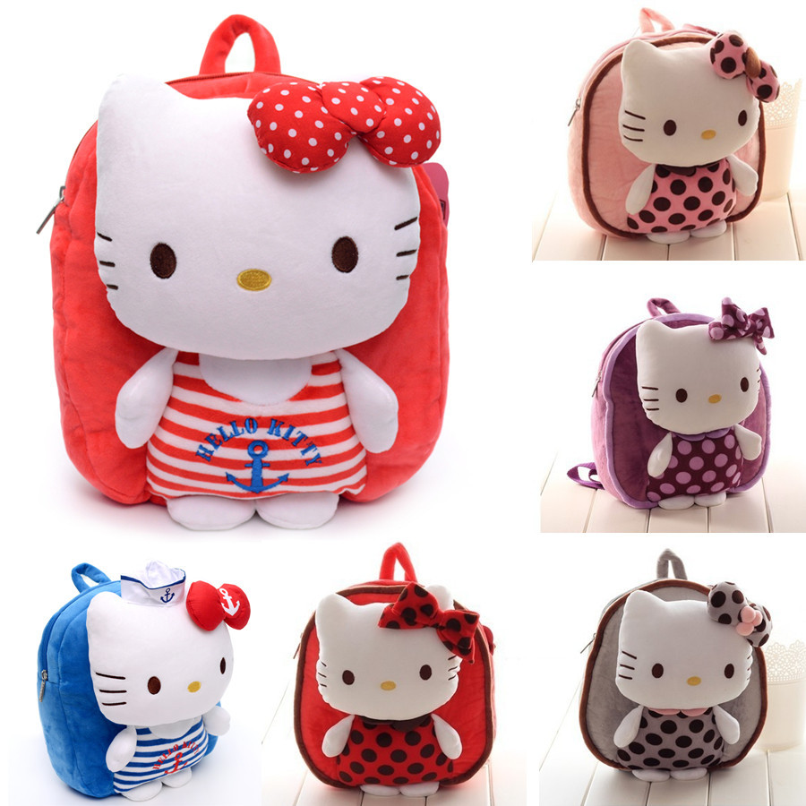 Aliexpress.com : Buy Children Girls Backpack Fashion Cartoon Hello ...