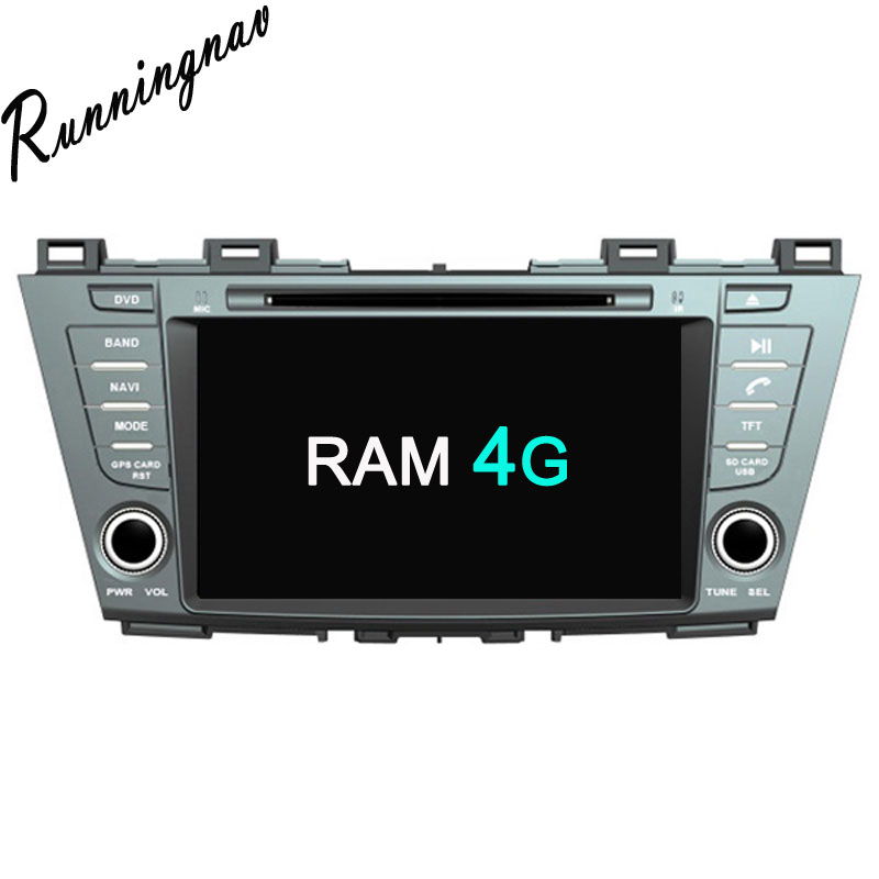 Octa Core Android 8.0 PX5/PX3 Fit MAZDA 5 Premacy 2010 2011 2012 2013 2014 2015 2016 - Car DVD Player Navigation GPS Radio
