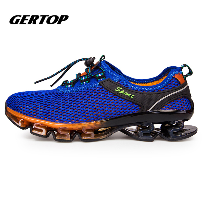 2016 New Super Cool running shoes men outdoor sport Cushioning mens trainers  sneakers Professional athletic shoes 23f83a94e