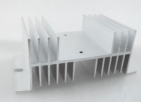Heat Sink 125mm X 70mm X 50mm For Solid State Relay SSR White