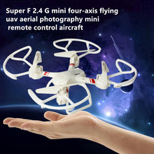 rc drone toy 33043 SUPER – F 2.4GHz 4CH 6 Axis Gyro RC Quadcopter 3D flip Headless Mode remote control Drone rc toy best gift to