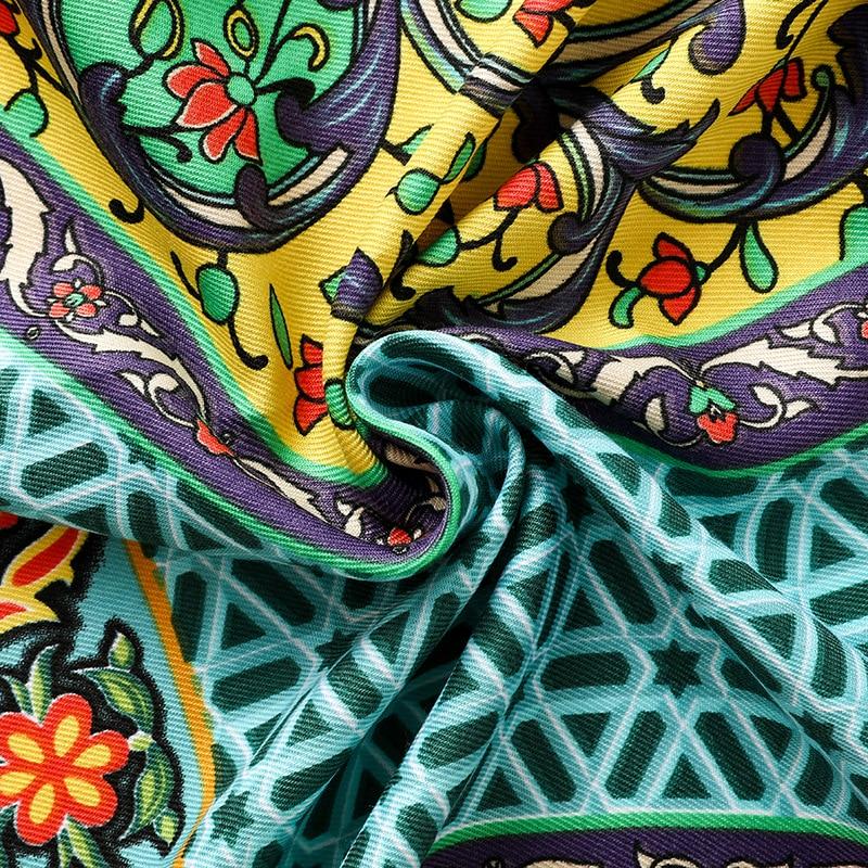 Women's Mosaic Boho Style Warm Scarf 5