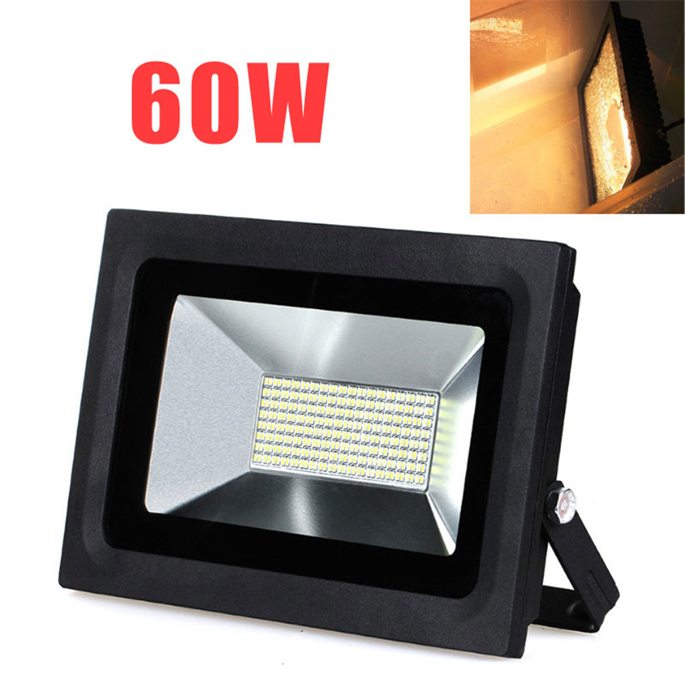 288 LED FloodLight 60W Reflector Flood Light Spotlight AC85 265V Waterproof Outdoor Wall Lamp Projectors for