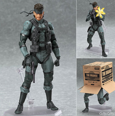 NEW Hot 16cm METAL GEAR SOLID 2: SONS OF LIBERTY Snake Mobile Collectors Action Figure Toys Christmas Gift Doll