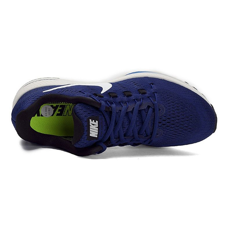 Nike Original New Arrival Official AIR ZOOM VOMERO 12 Breathable Mens Running Shoes Sports Sneakers 863762-401 863762-002