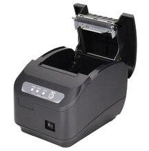 Q200II 80mm thermal printer 80mm kitchen printer USB port POS 80mm thermal receipt printer USB+Serial/LAN