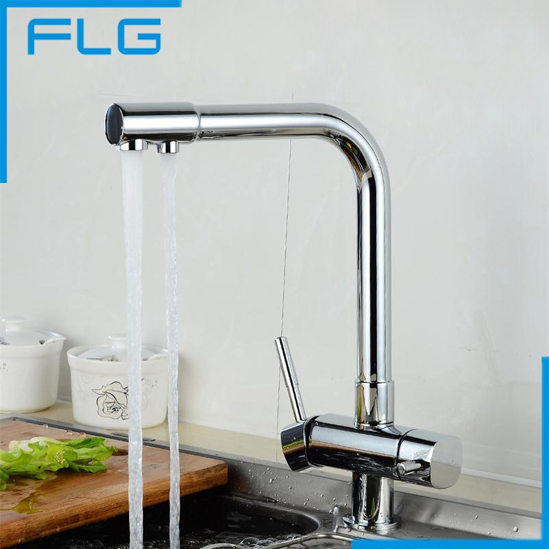 Free Shipping Chrome Finishing Bronze Drinking Water Faucet, Purify ...