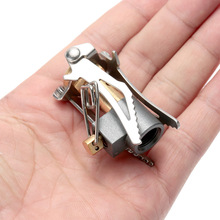 Portable Folding Mini Camping Stove Outdoor Gas Stove Survival Furnace Stove 3000W Pocket Picnic Cooking Gas brs 8 portable oil gas multi use stove camping stove picnic gas stove cooking stove with retail box