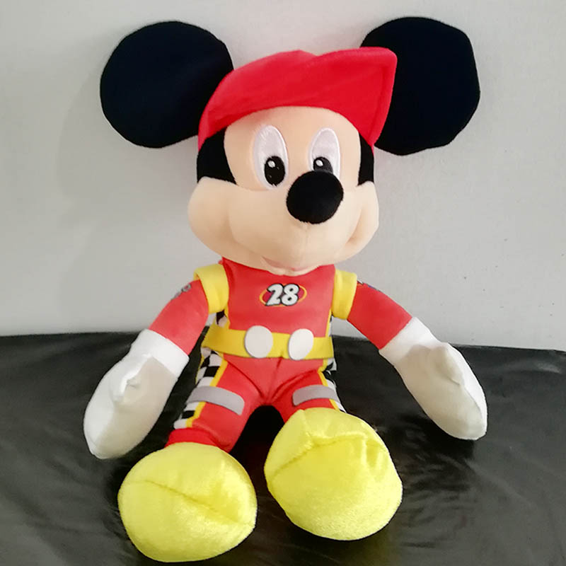 5pcs Wholesale Mickey and Roadster Racers Plush Toys Mickey Racer Soft Stuffed Animal Doll 30cm