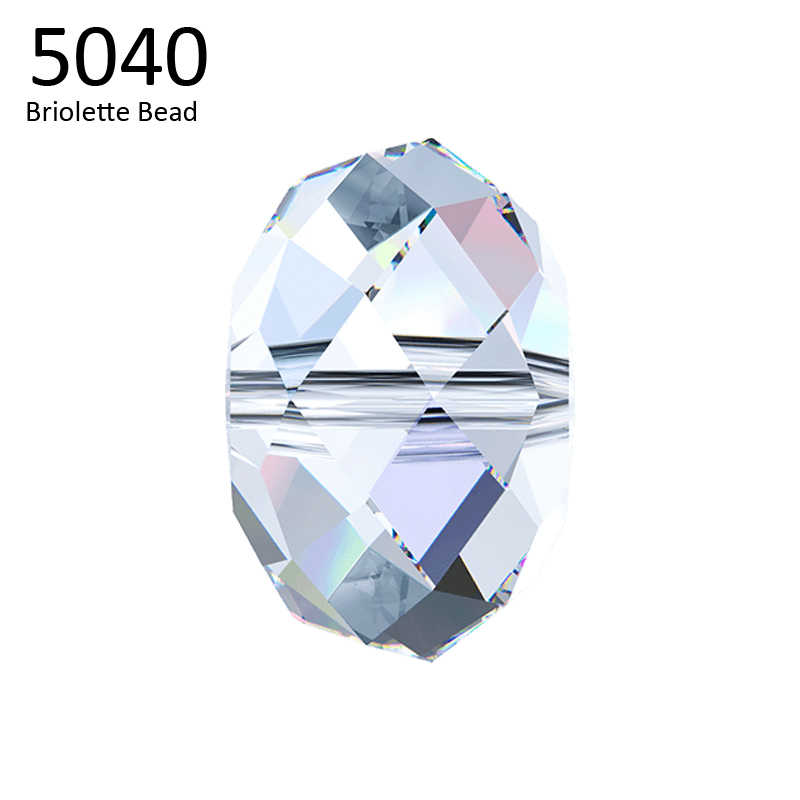 (1 piece) 100% 4mm 6mm 8mm 5040  Briolette beads Crystal from Swarovski made in Austria loose beads for DIY jewelry making