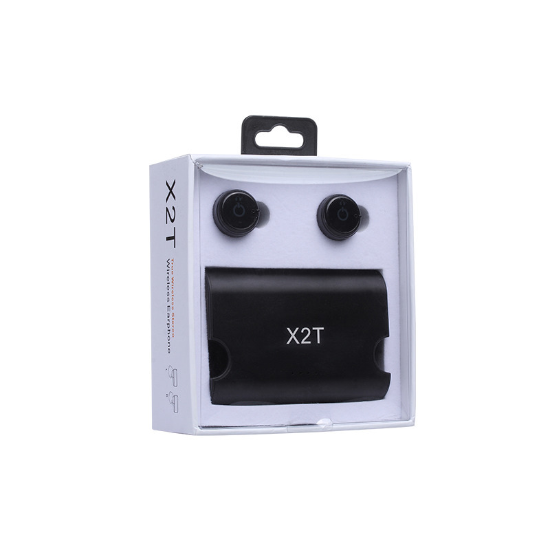 Mini X2T CSR Bluetooth 4.2 Wireless Handsfree Sport Earpiece Stereo Music Earphone with Mic Charging Box for iPhone Phone egrincy x11 mini bluetooth car earphone wireless handsfree in ear headsets usb magnetic charging with usb socket mic for iphone