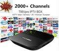 Boom IUDTV 2000 + Canais de IPTV e VOD tvAndroid 2GB8GB inteligente TV Europa saudita Itália SUÉCIA REINO UNIDO DE FR SP ALB NL qhdtv neotv leadtv