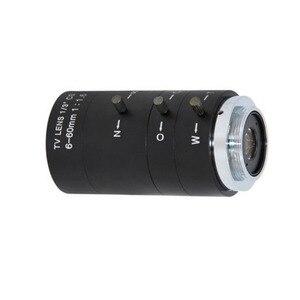 Image 4 - 6 60mm CS C Mount Lens Manual IRIS ZOOM Varifocal F1.6 for CCTV Camera Industrial Microscope