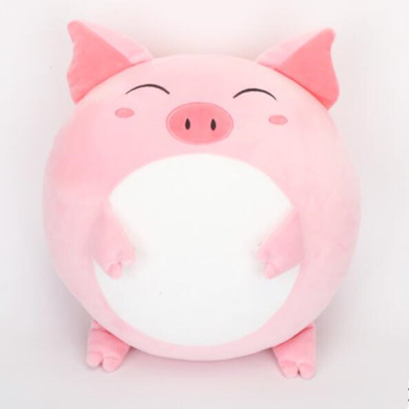 CXZYKING Plush Toys Warm Baby Children Toys Gift Plush Pig Sheep Dog Kawaii Stuffed Animal Doll Pig Pillow Cushion stuffed animal 44 cm plush standing cow toy simulation dairy cattle doll great gift w501