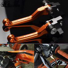 For KTM 125EXC 125SX 125XC-W 2005-2008 2009-2013 2014-2016 Dirt Bike Pivot CNC Brake Clutch Levers Motorcycle Printing Pit