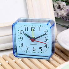 1 Pcs Cute Cartoon Desktop Alarm Clock Multi-function Trip Bed Beep Mini Portable Desktop clock Home Desk Table Alarm Clock 2017