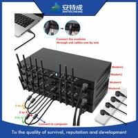 Good quad band 850/900/1800/1900 Q24plus Wavecom gsm gprs sms 8 port modem pool