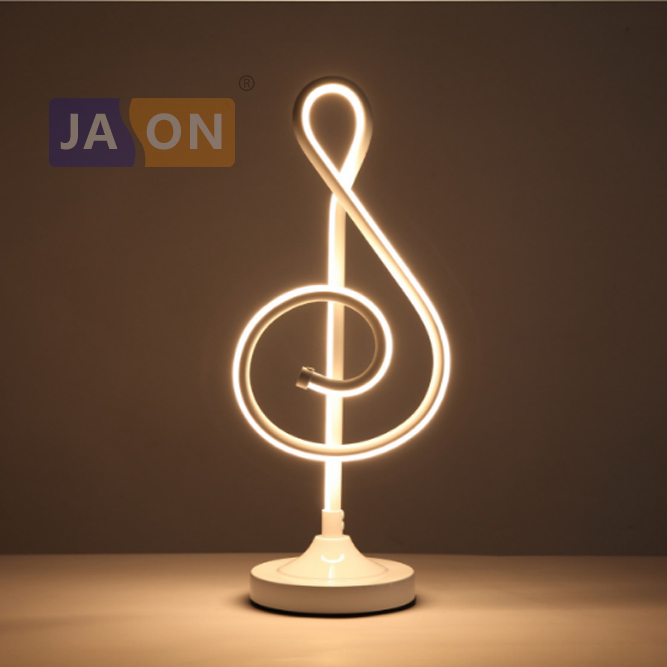 LED Postmodern Iron Acryl Aluminum Minimalism White Gold LED Lamp. LED Light. Table Lamp. Desk Lamp.LED Desk Lamp For Bedroom