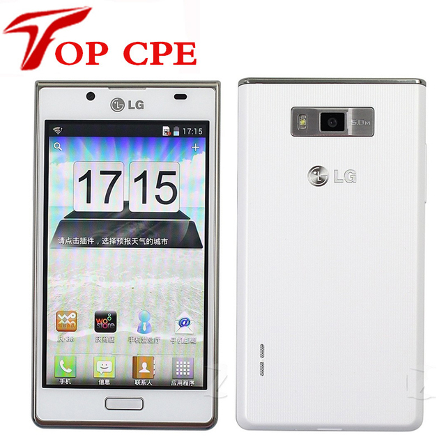 P705 Оригинальный LG Optimus L7 P700 разблокирована Сотовый Телефон, wi-fi 3 Г GPS, сенсорный экран, Смартфон Восстановленное Бесплатная доставка