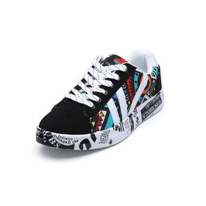 Image 3 - TYDZSMT 2020 קיץ אישה סניקרס לבן נעליים יומיומיות אוהבי הדפסת אופנה נשים שטוחות גופר נעלי Zapatos de mujer