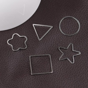 20 мм Медь кольцо геометрической фигуры орнамент аксессуары пакет 50 шт.