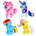 Kawaii mi encantador lindo caballito de peluche de Felpa juguetes de los niños Rainbow Dash pony Unicornio de Peluche Animales juguetes de la muñeca para Los Niños juguetes