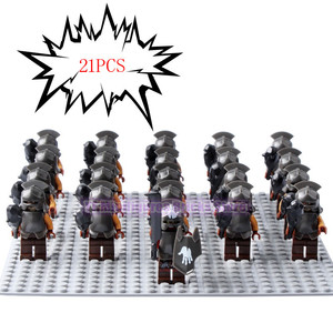 Image 3 - Lord of the Rings Corps Witch king RingWraith King of The Dead Army Mordor LegoING Action Figure Building Blocks Children Toys