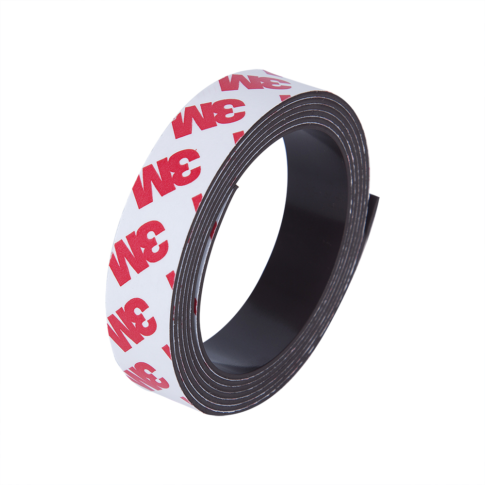 1M 15*1mm Rubber Magnetic Strip Self Adhesive Flexible Magnetic DIY Strip Tape Width 15mm Thickness 1mm 15mm x 1mm 15 15 diy