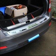 Защитная Накладка На Задний Багажник Отделка Крышки Порога Задний Внутренний Дверной Порог Стайлинга Автомобилей Для Skoda Октавиан 2015