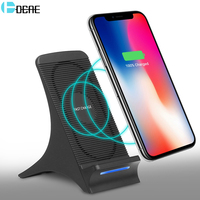 DCAE Qi Wireless Charger For IPhone X 8 Plus Fast 10W USB Wireless Charging Pad For