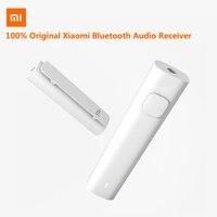 Оригинальный Xiao mi Bluetooth аудио приемник портативный Проводной для беспроводной mi медиа адаптер для 3,5 мм наушники гарнитура динамик автомоби...