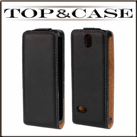 TUKE New Genuine Leather Case Flip Cover Pouch for nokia 515 for LUMIA 515 Vertical Open mobile phone case