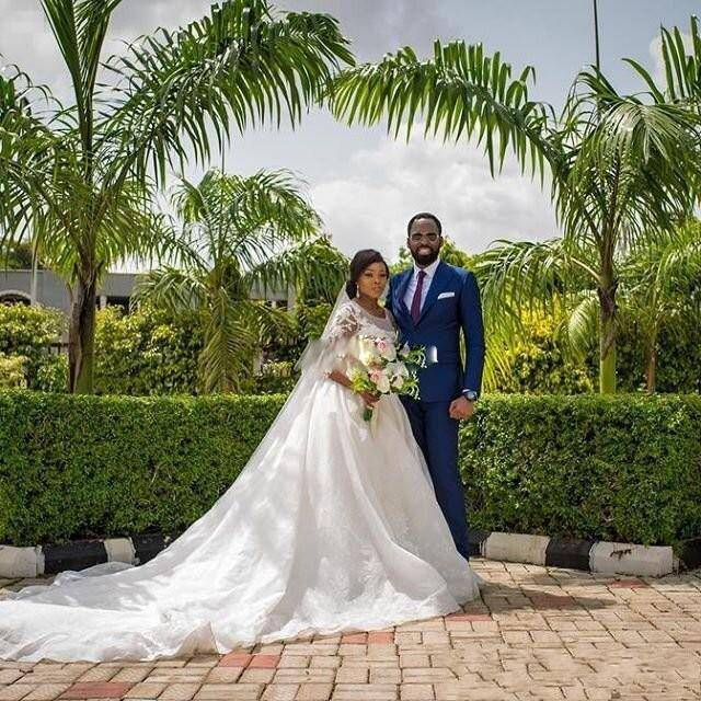 Doragrace vestido de noiva Custom Made 3 4 Sleeve Applique Lace Wedding Gowns Ball Gown Wedding Dresses Plus Size in Wedding Dresses from Weddings Events