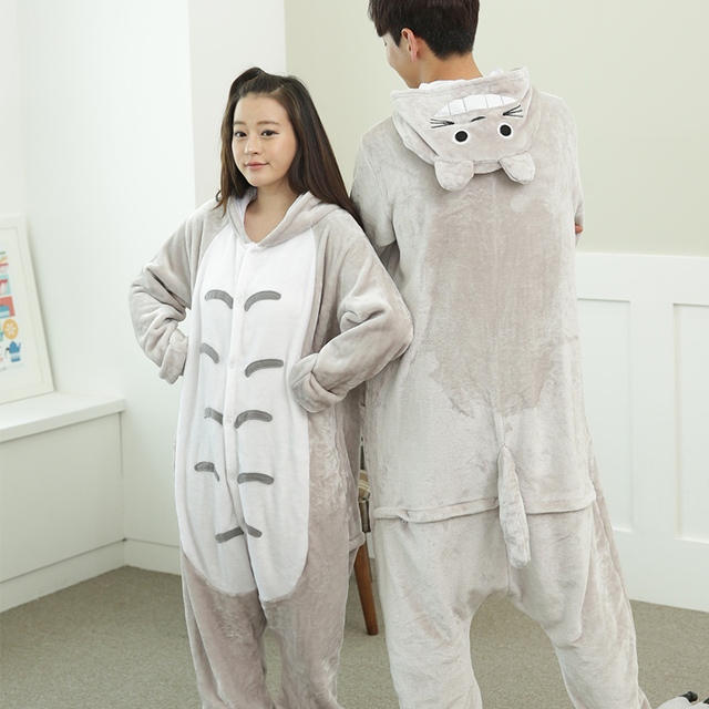 New 2018 Dropshipping Adult Unicorn Tiger Dinosaur Animal Pajamas Costume Anime Cosplay Flannel Onesies Sleepwear Pajamas Sets