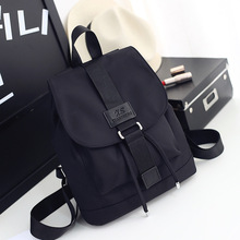 2018 Nylon Fashion  Backpacks Women Young Ladies Backpack Girl Student School Bag For Laptop Travel bag Black Mochilas Hot Sale