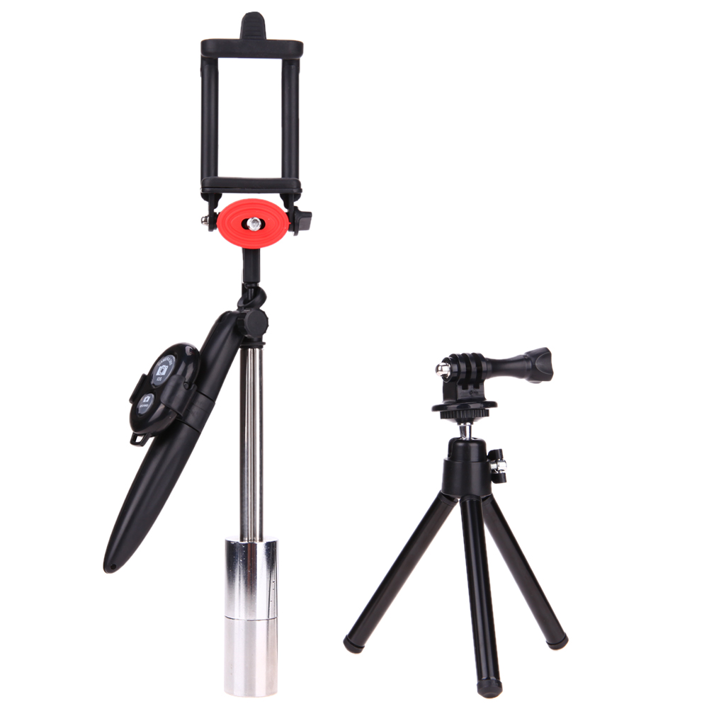 Handheld Stabilizer Steadycam Stand plastic tripod mount adapter for Smart Phone Camera with Remote Bluetooth tripod